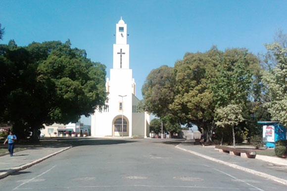 Shows acontecem na praça da matriz de Caetanópolis / Foto: Diocese de Sete Lagoas
