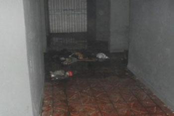 Policiais Militares tentaram controlar o fogo /Foto: Divulgação.
