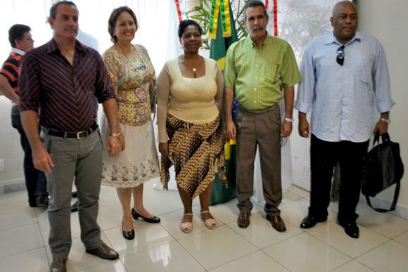 Elvis Martin, Eralisis La Caridad, Elsa Calvo, Enrique Osa e Ernesto Chacon / Foto: Marcelo Paiva