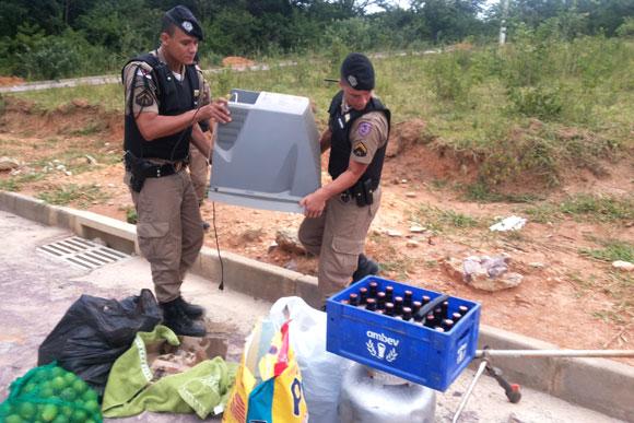 Objetos furtados foram encontrados / Foto:Divulgação