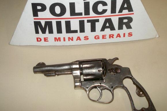 Arma do modelo da apreendida com Wagner / Foto ilustrativa: Divulgação