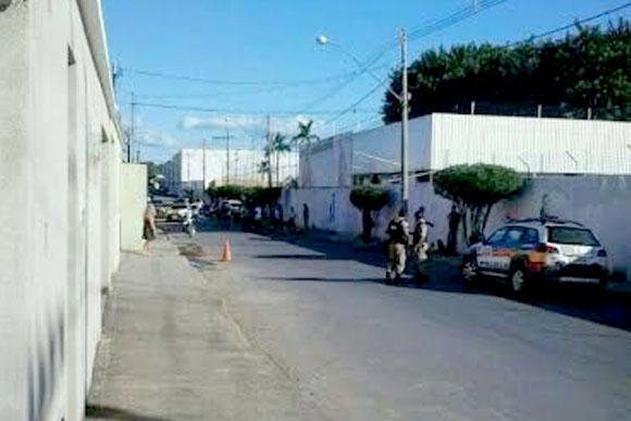 Assalto frustrado aconteceu perto do clube Náutico / Foto: Divulgação