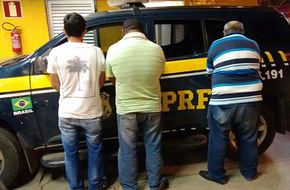 Trio de estelionatários / Foto: Divulgação