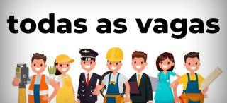 Confira aqui todas as vagas de trabalho disponíveis no site